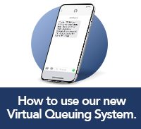 click here to learn how to use Qless our new virtual queuing system