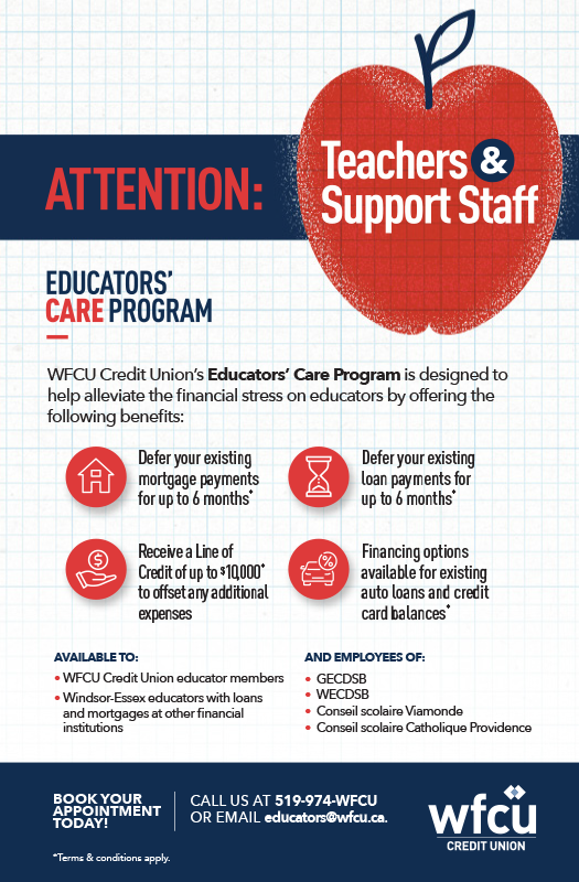 Educators' Care Program Details