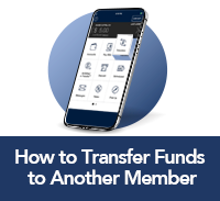 click here to learn how to transfer funds to another member